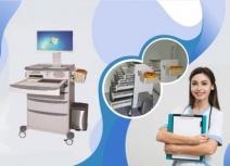 MiMi -Xe đẩy điều dưỡng bệnh án điện tử (XKD-001)